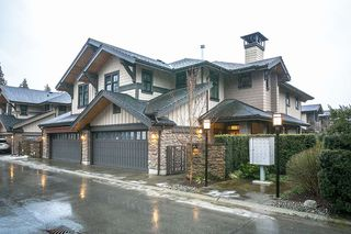 Main Photo: 38 3639 ALDERCREST Drive in North Vancouver: Seymour NV Townhouse for sale : MLS®# R2132728