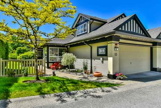 "Photo 1: 13 17917 68 Avenue in Surrey: Cloverdale BC Townhouse for sale in ""WEYBRIDGE LANE"" (Cloverdale)  : MLS®# R2170023"