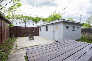 Photo 20: 804 Banning Street in Winnipeg: West End Residential for sale (5C)  : MLS®# 1720547