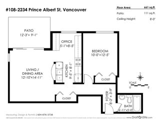 """Photo 18: 108 2234 PRINCE ALBERT Street in Vancouver: Mount Pleasant VE Condo for sale in """"OASIS"""" (Vancouver East)  : MLS®# R2248597"""