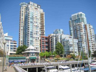 Photo 1: 2101 1000 BEACH AVENUE in Vancouver: Yaletown Condo for sale (Vancouver West)  : MLS®# R2248536