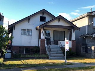 Photo 1: 2691 GRANT Street in Vancouver: Renfrew VE House for sale (Vancouver East)  : MLS®# R2293083