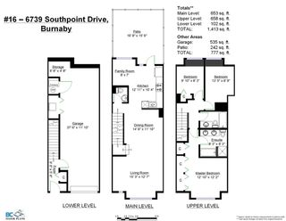 "Photo 2: 16 6736 SOUTHPOINT Drive in Burnaby: South Slope Townhouse for sale in ""SOUTHPOINT"" (Burnaby South)  : MLS®# R2433523"