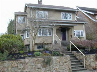 Photo 1: 3510 W 20TH Avenue in Vancouver: Dunbar House for sale (Vancouver West)  : MLS®# V878695