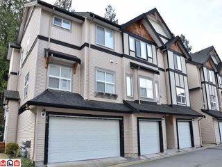 "Photo 1: 13 6366 126TH Street in Surrey: Panorama Ridge Townhouse for sale in ""Sunridge"" : MLS®# F1327234"
