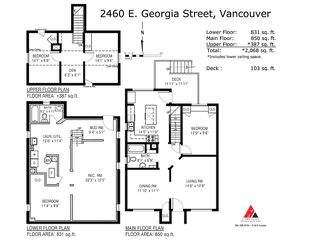 Photo 20: 2460 E GEORGIA Street in Vancouver: Renfrew VE House for sale (Vancouver East)  : MLS®# V1050625