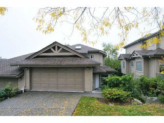 "Photo 1: 84 2979 PANORAMA Drive in Coquitlam: Westwood Plateau Townhouse for sale in ""DEERCREST"" : MLS®# V1090309"