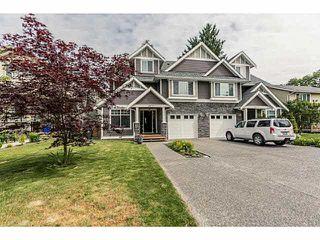 Main Photo: 18973 119TH Avenue in Pitt Meadows: Central Meadows House 1/2 Duplex for sale : MLS®# V1126570