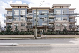 "Main Photo: 205 19936 56 Avenue in Langley: Langley City Condo for sale in ""Bearing Pointe"" : MLS®# R2147214"