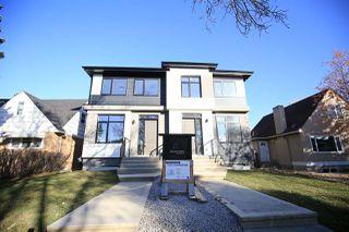 Main Photo: 11344 75 Avenue in Edmonton: Zone 15 House Half Duplex for sale : MLS®# E4133987