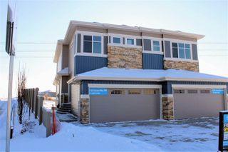 Main Photo: 8733 CARSON Way in Edmonton: Zone 55 Attached Home for sale : MLS®# E4143996