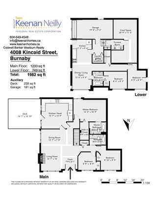 "Photo 19: 4008 KINCAID Street in Burnaby: Burnaby Hospital House 1/2 Duplex for sale in ""BURNABY HOSPITAL"" (Burnaby South)  : MLS®# R2346188"