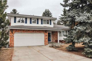 Photo 1: 56 FAIRWAY Drive in Edmonton: Zone 16 House for sale : MLS®# E4150890