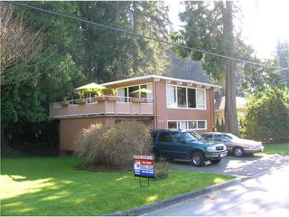 Main Photo: 4116 VIRGINIA Crescent in North Vancouver: Canyon Heights NV House for sale : MLS®# V1107217