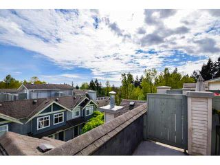 "Photo 19: 56 7488 SOUTHWYNDE Avenue in Burnaby: South Slope Townhouse for sale in ""LEDGESTONE 1"" (Burnaby South)  : MLS®# V1116584"