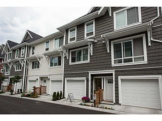 "Photo 1: 20 3039 156 Street in Surrey: Grandview Surrey Townhouse for sale in ""NICHE"" (South Surrey White Rock)  : MLS®# F1445267"