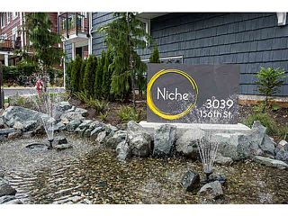 "Photo 17: 20 3039 156 Street in Surrey: Grandview Surrey Townhouse for sale in ""NICHE"" (South Surrey White Rock)  : MLS®# F1445267"