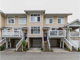 "Photo 1: 111 7179 201ST Street in Langley: Willoughby Heights Townhouse for sale in ""DENIM"" : MLS®# F1447236"