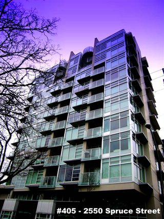 "Photo 1: 405 2550 SPRUCE Street in Vancouver: Fairview VW Condo for sale in ""SPRUCE (BY INTRACORP)"" (Vancouver West)  : MLS®# R2045533"