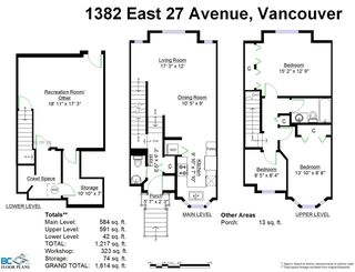 Photo 17: 1382 E 27TH Avenue in Vancouver: Knight Townhouse for sale (Vancouver East)  : MLS®# R2072288