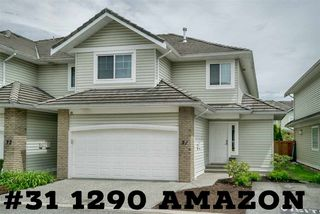 Main Photo: 31 1290 AMAZON DRIVE in Port Coquitlam: Riverwood Townhouse for sale : MLS®# R2201511