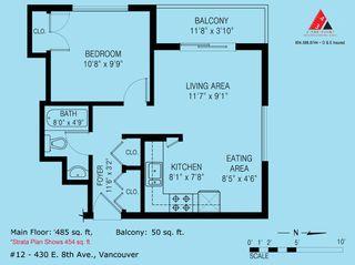 Photo 10: 12 430 E 8TH Avenue in Vancouver: Mount Pleasant VE Condo for sale (Vancouver East)  : MLS®# R2318976