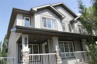 Main Photo: 1379 RUTHERFORD Road in Edmonton: Zone 55 House Half Duplex for sale : MLS®# E4139094