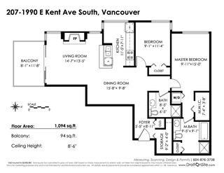 "Photo 19: 207 1990 SE KENT Avenue in Vancouver: VVESM Condo for sale in ""Harbour House at Tugboat Landing"" (Vancouver East)  : MLS®# R2345150"