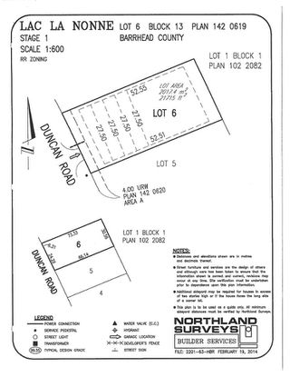 Photo 1: 406 Duncan Road: Rural Barrhead County Rural Land/Vacant Lot for sale : MLS®# E4154945