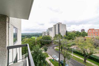 Photo 15: 602 9737 112 Street in Edmonton: Zone 12 Condo for sale : MLS®# E4173151