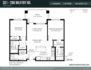 Photo 22: 301 286 Wilfert Rd in View Royal: VR Six Mile Condo Apartment for sale : MLS®# 843025