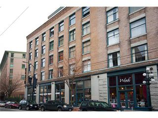 """Photo 1: 315 55 E CORDOVA Street in Vancouver: Downtown VE Condo for sale in """"KORET LOFTS"""" (Vancouver East)  : MLS®# V874639"""