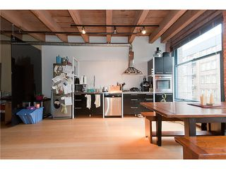 """Photo 3: 315 55 E CORDOVA Street in Vancouver: Downtown VE Condo for sale in """"KORET LOFTS"""" (Vancouver East)  : MLS®# V874639"""