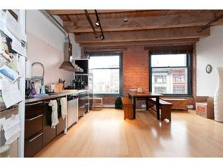 """Photo 4: 315 55 E CORDOVA Street in Vancouver: Downtown VE Condo for sale in """"KORET LOFTS"""" (Vancouver East)  : MLS®# V874639"""