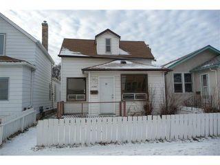 Photo 1: 1148 Garfield Street North in WINNIPEG: West End / Wolseley Residential for sale (West Winnipeg)  : MLS®# 1200133