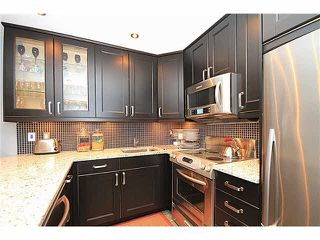 """Photo 1: 207 450 BROMLEY Street in Coquitlam: Coquitlam East Condo for sale in """"BROMLEY MANOR"""" : MLS®# V1098263"""