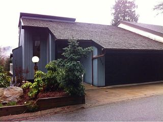 """Photo 1: 5623 EAGLE Court in North Vancouver: Grouse Woods House 1/2 Duplex for sale in """"Grousewoods"""" : MLS®# V1103853"""