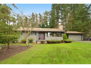 """Photo 1: 2624 140 Street in Surrey: Sunnyside Park Surrey House for sale in """"Elgin / Chantrell"""" (South Surrey White Rock)  : MLS®# F1435238"""