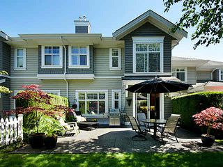 "Photo 1: 34 5900 FERRY Road in Ladner: Neilsen Grove Townhouse for sale in ""CHESAPEAKE"" : MLS®# V1123768"