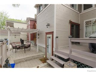 Photo 17: 166 Ruby Street in Winnipeg: West End / Wolseley Residential for sale (West Winnipeg)  : MLS®# 1612567