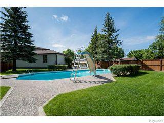 Photo 18: 1145 Des Trappistes Street in Winnipeg: Fort Garry / Whyte Ridge / St Norbert Residential for sale (South Winnipeg)  : MLS®# 1615114