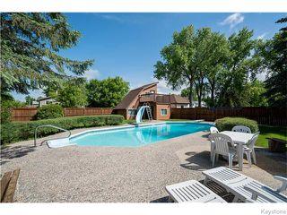Photo 19: 1145 Des Trappistes Street in Winnipeg: Fort Garry / Whyte Ridge / St Norbert Residential for sale (South Winnipeg)  : MLS®# 1615114