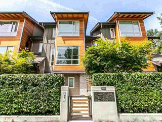 """Main Photo: 27 897 PREMIER Street in North Vancouver: Lynnmour Townhouse for sale in """"Legacy @ Nature's Edge"""" : MLS®# R2077735"""