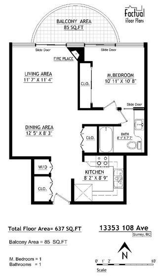 "Photo 20: 1106 13353 108TH Avenue in Surrey: Whalley Condo for sale in ""Cornerstone II"" (North Surrey)  : MLS®# R2158015"