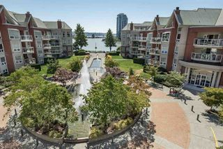 "Photo 2: 411 1240 QUAYSIDE Drive in New Westminster: Quay Condo for sale in ""Tiffany Shores"" : MLS®# R2295103"