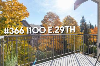 "Photo 18: 366 1100 E 29TH Street in North Vancouver: Lynn Valley Condo for sale in ""HIGHGATE"" : MLS®# R2317481"