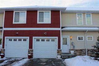 Main Photo: 15 450 MCCONACHIE Way in Edmonton: Zone 03 Townhouse for sale : MLS®# E4140635