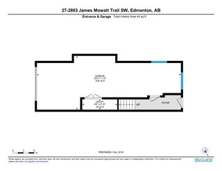 Photo 17: 27 2803 JAMES MOWATT Trail in Edmonton: Zone 55 Townhouse for sale : MLS®# E4146448