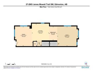 Photo 15: 27 2803 JAMES MOWATT Trail in Edmonton: Zone 55 Townhouse for sale : MLS®# E4146448