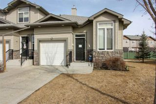 Photo 1: 41 10 WOODCREST Lane: Fort Saskatchewan Townhouse for sale : MLS®# E4149842